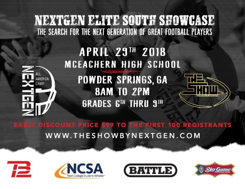 NEXTGEN ELITE SOUTH SHOWCASE - ATLANTA