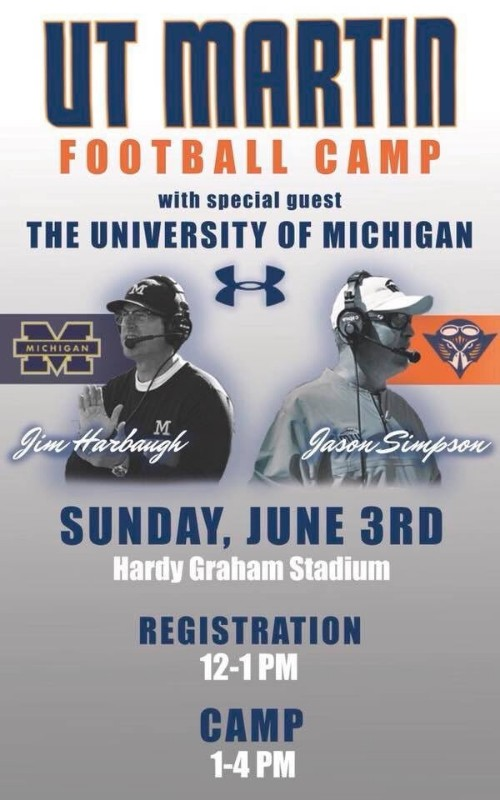 UT Martin Football Camp