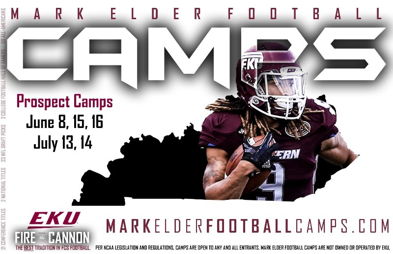 Mark Elder/EKU Football Camp