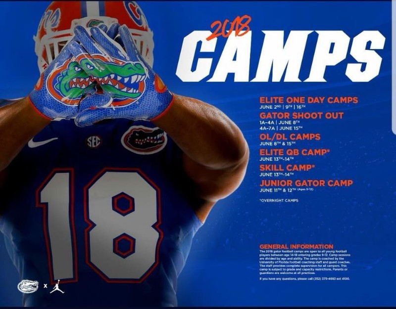 University of Florida Camp