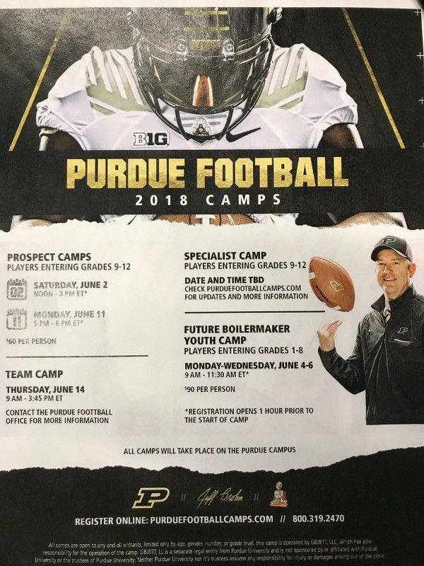 Purdue Camp