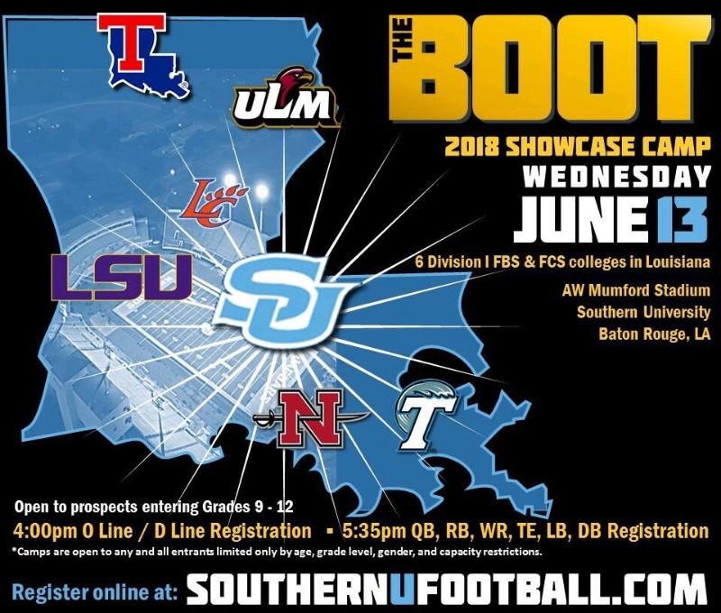 Southern U/The Boot Showcase Camp