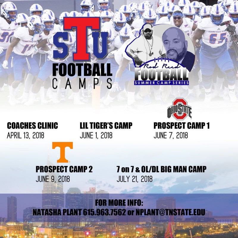 Tennessee State Football Camp