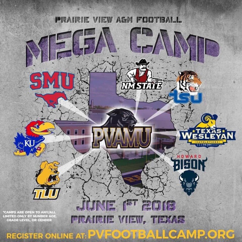 Prairie View A&M Football Mega Camp